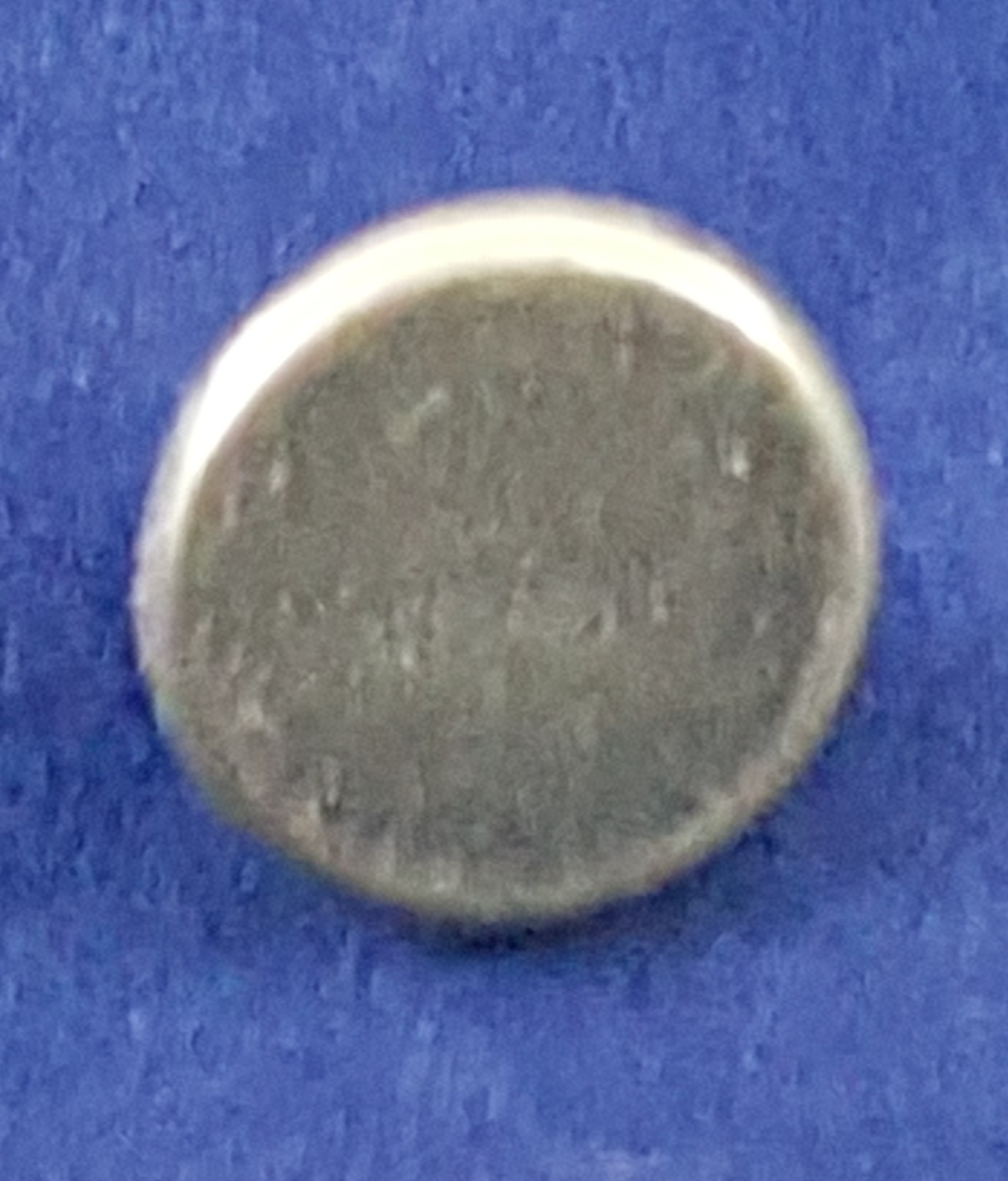 Button, Small Pewter Blank Copy 5001