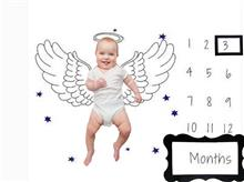 Baby's Monthly Memory Blanket AWMMB