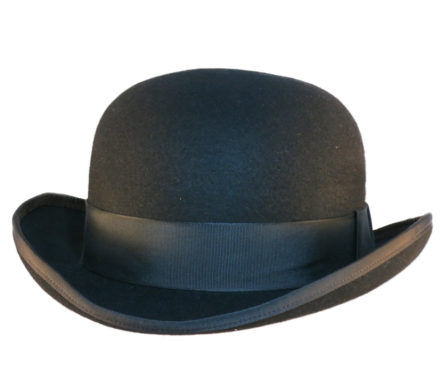 Wide Brimmed Bowler from Top-Hats.com 959654dbcd7