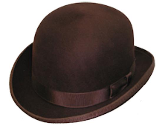 Deluxe Bowler from Top-Hats 87627888448
