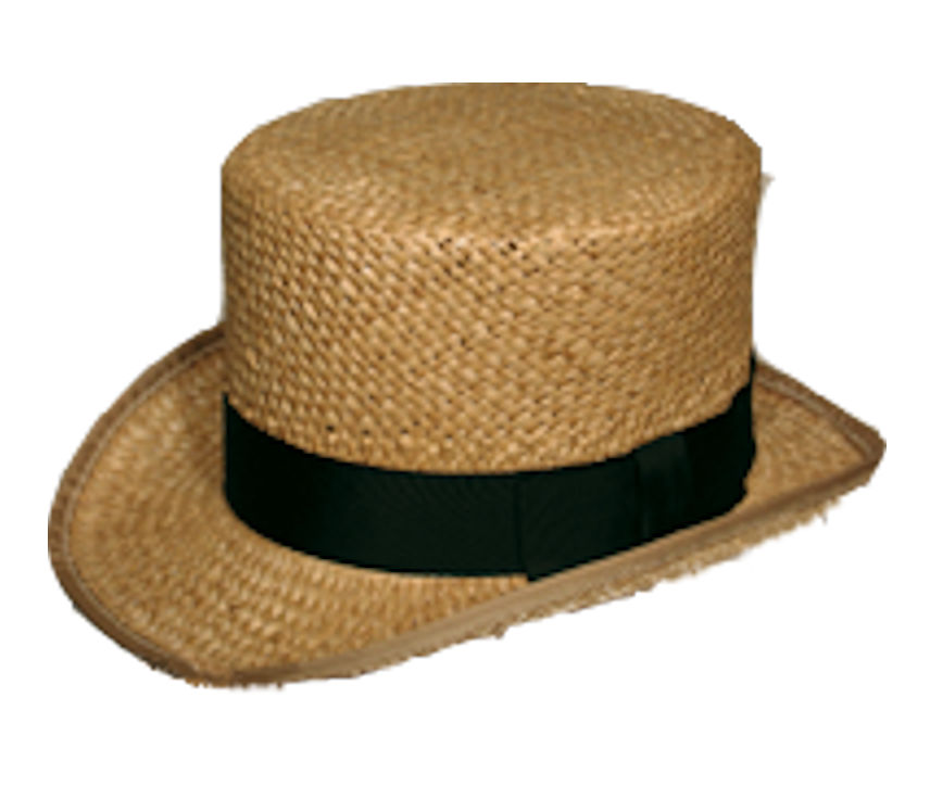 Low Straw Top Hat Copy 15S