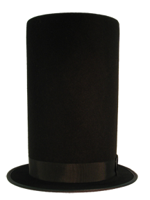 Tall Lincoln Top Hat From Hatcrafters 3993ce57f9fb