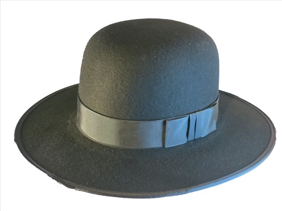 575a95e102d An Amish Style Wide Brimmed Wool Felt Hat from Top-Hats.com