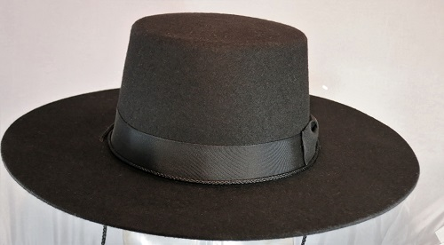 Wide Brim-Wool Felt